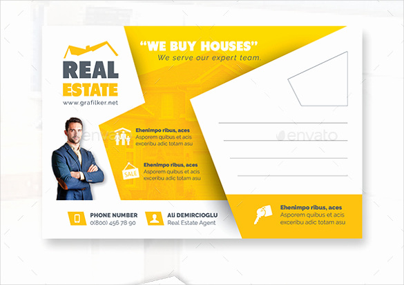 Real Estate Postcards Templates Unique 18 Real Estate Postcard Templates – Free Sample Example