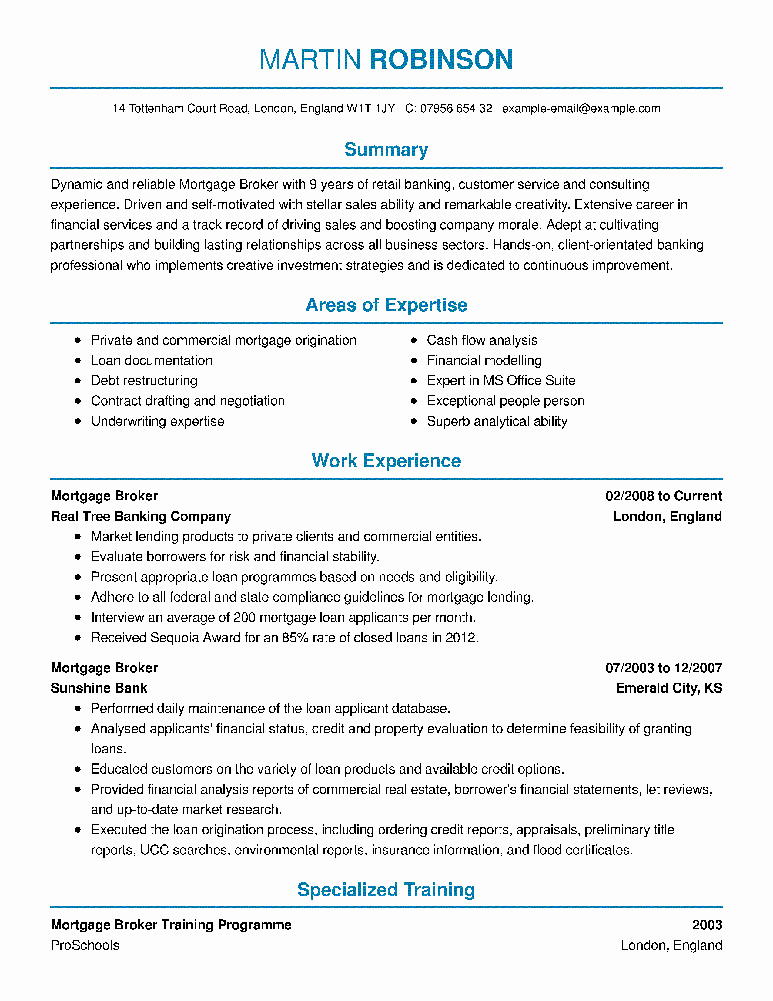 Real Estate Resume Templates Luxury Amazing Real Estate Resume Examples to Get You Hired