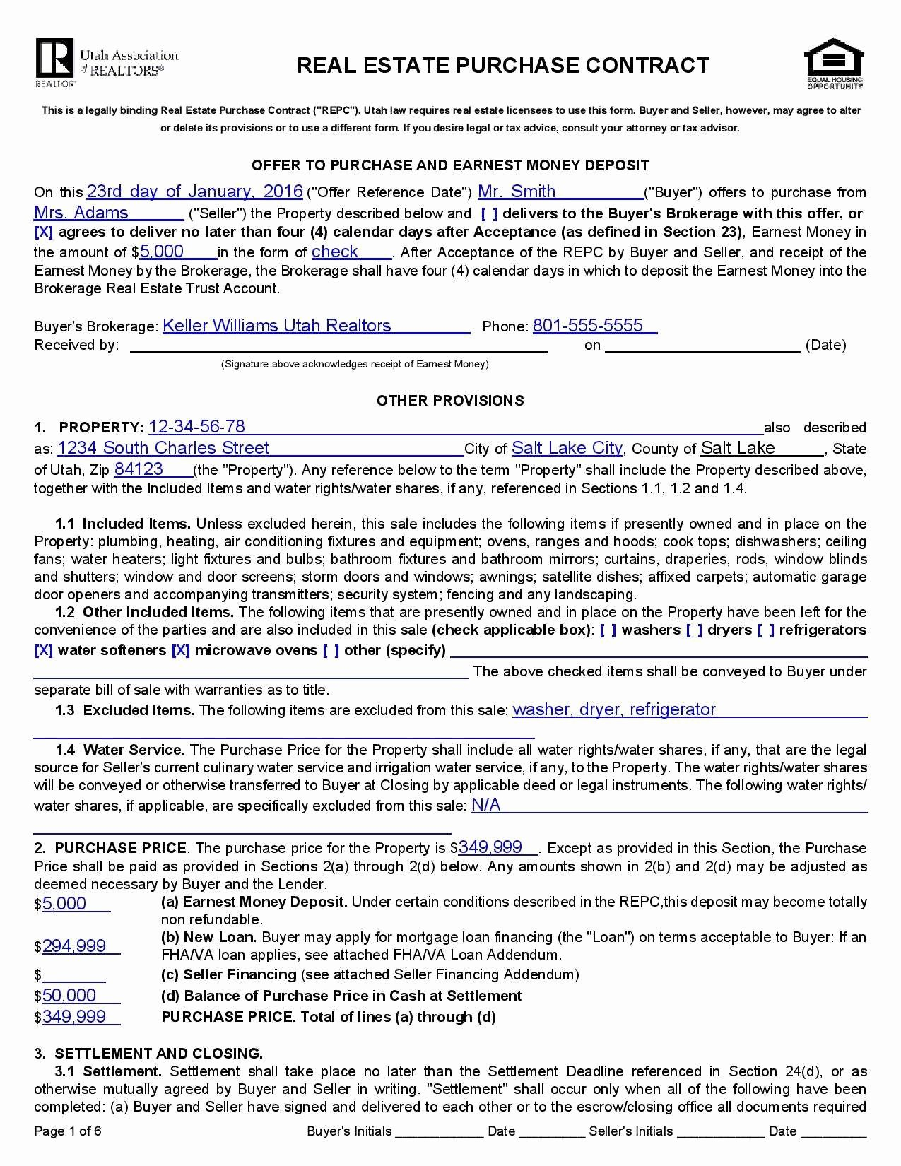 Real Estate Sales Contract Template Beautiful Purchase Sale Agreement Mercial Real Estate Great Real