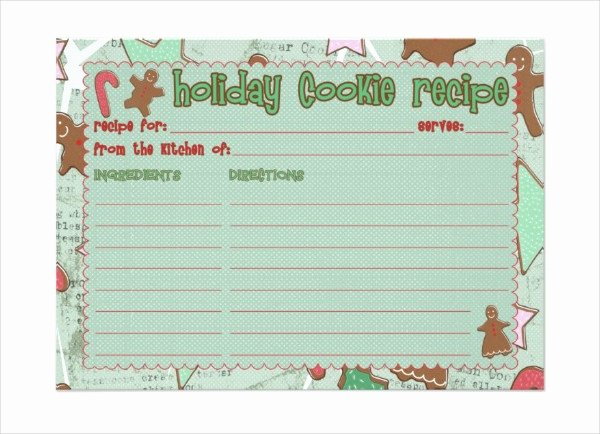 Recipe Template for Mac Lovely 10 Recipe Card Templates Psd Ai Vector Eps Publisher