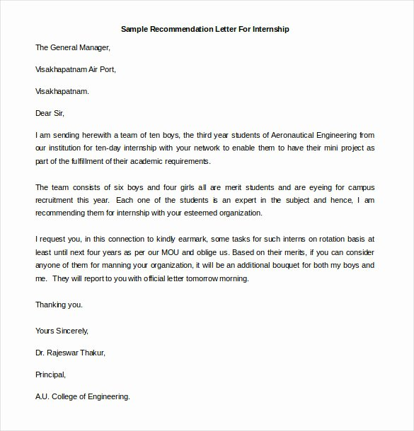 Reference Letter Templates Free Elegant 25 Re Mendation Letter Templates Free Sample format