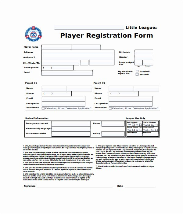 Registration form Template Word Best Of 11 Registration form Templates Free Word Pdf Documents