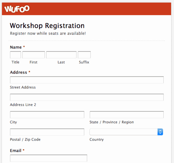 Registration form Template Word Elegant Printable Registration form Templates Word Excel Samples