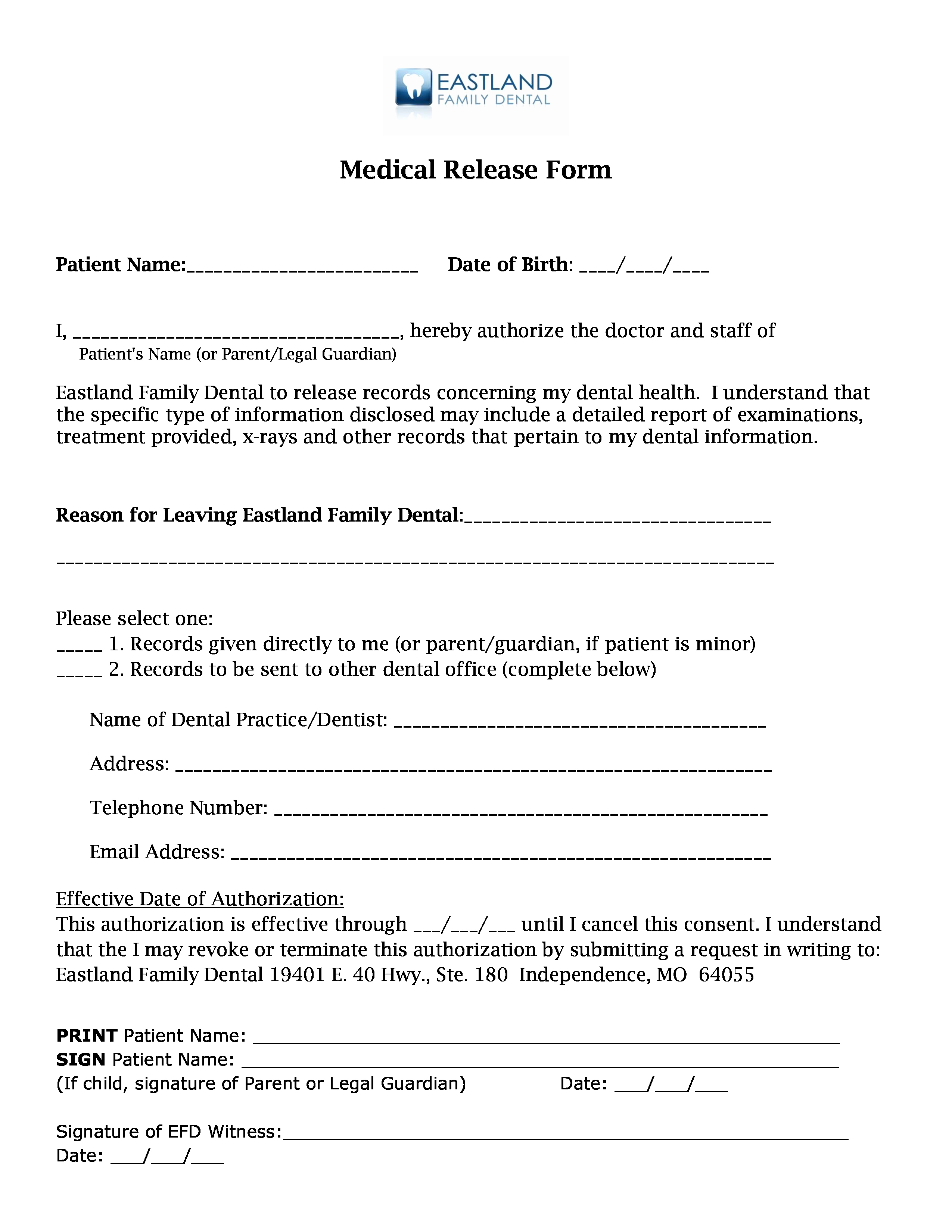 Release Of Medical Records Template Best Of Medical Records Release forms – Cnbam