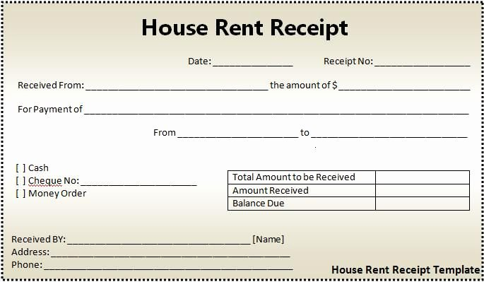 Rent Invoice Template Word Inspirational Rent Receipts