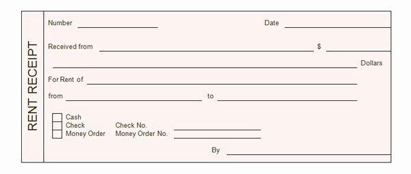 Rent Payment Receipt Template Unique Rent Receipt Template