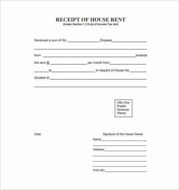 Rent Receipt Template Pdf Best Of 35 Rental Receipt Templates Doc Pdf Excel