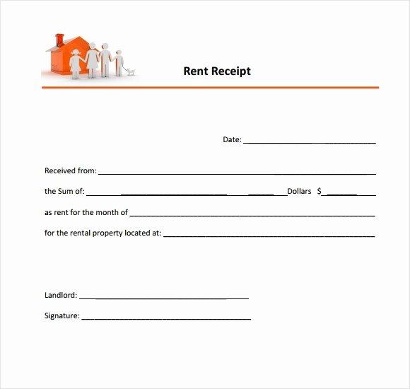 Rent Receipt Template Pdf Luxury format Of House Rent Receipt Pics – 35 Rental Receipt