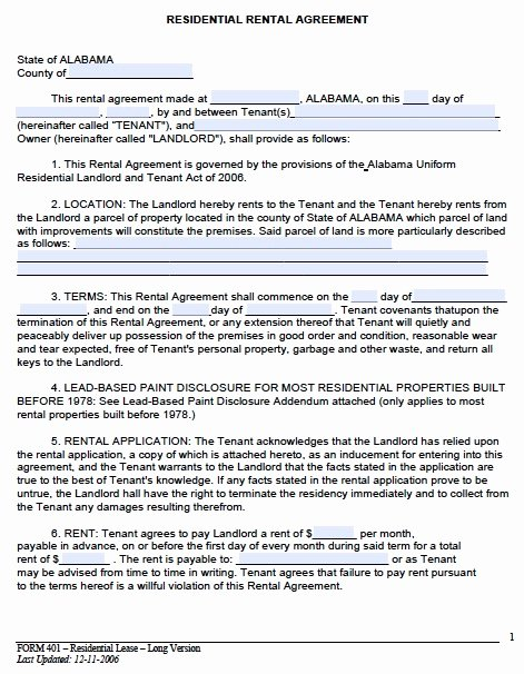 Rental Contract Template Word Beautiful Rental Lease Agreement Template