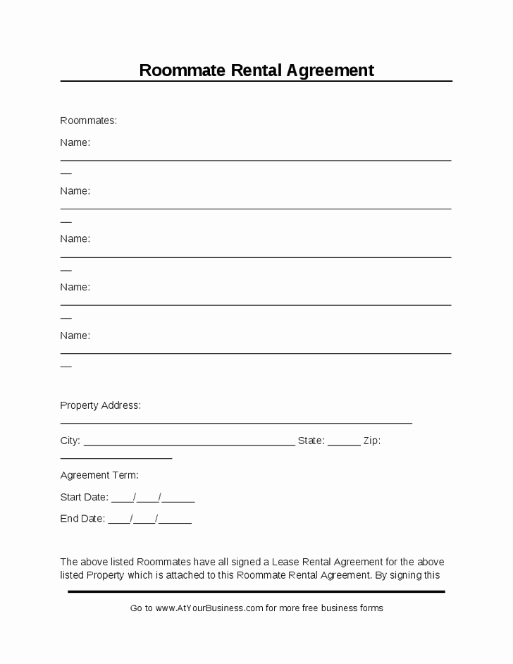 Rental Contract Template Word Elegant Room Rental Agreement Template