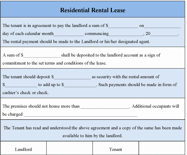 Rental Contract Template Word Inspirational 39 Excellent Rental Lease and Agreement Template Examples