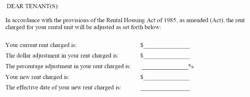 Rental Increase Letter Template Beautiful High Rise Life Here S the 2019 Rent Increase for Dc S