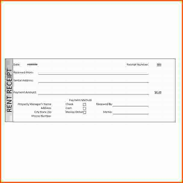 Rental Receipt Template Word Elegant 11 Rent Receipt Word