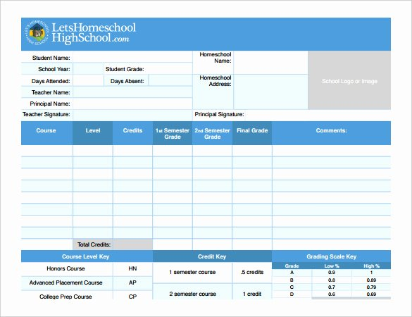 Report Card Template Pdf Beautiful Report Card Template – 21 Free Excel Pdf Documents