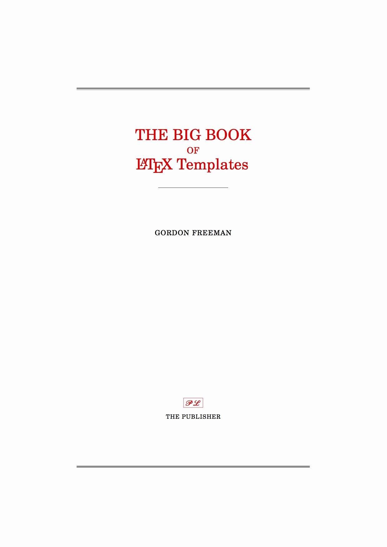 Report Cover Page Template Awesome Latex Templates Title Pages