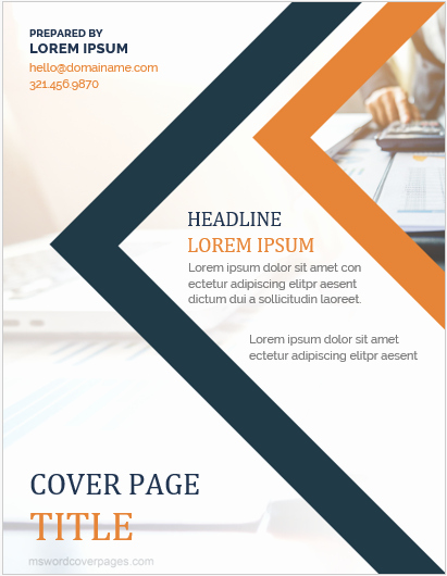 Report Cover Page Template Beautiful 10 Best Report Cover Page Templates for Businesses