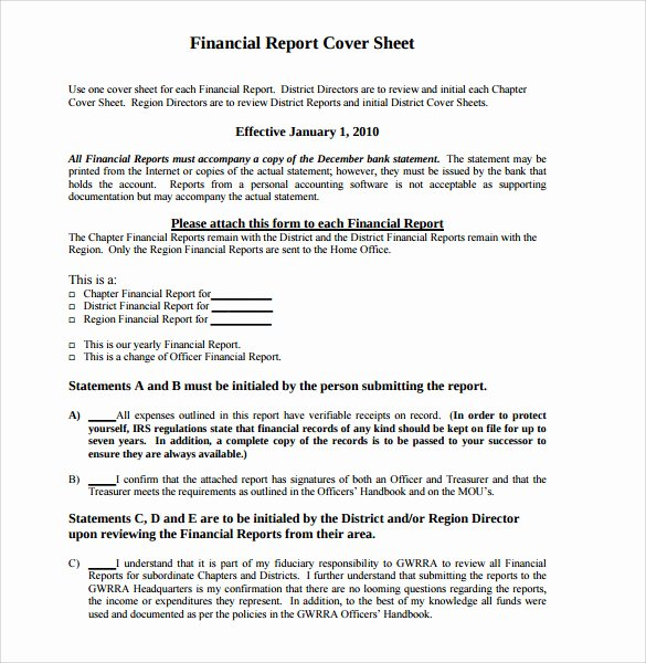 Report Cover Page Template Luxury Sample Report Cover Page 7 Documents In Word Pdf