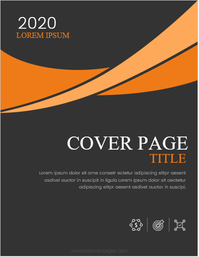 Report Cover Page Template New 5 Best Report Cover Page Designs for Ms Word