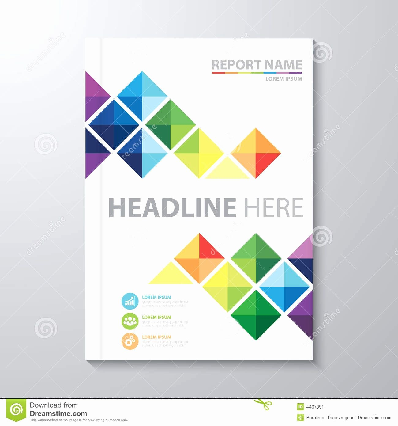 Report Cover Page Template Unique Annual Report Cover Design Template Cover