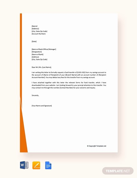 Request for Funds Template New Free Fund Transfer Letter Template Download 1994 Letters