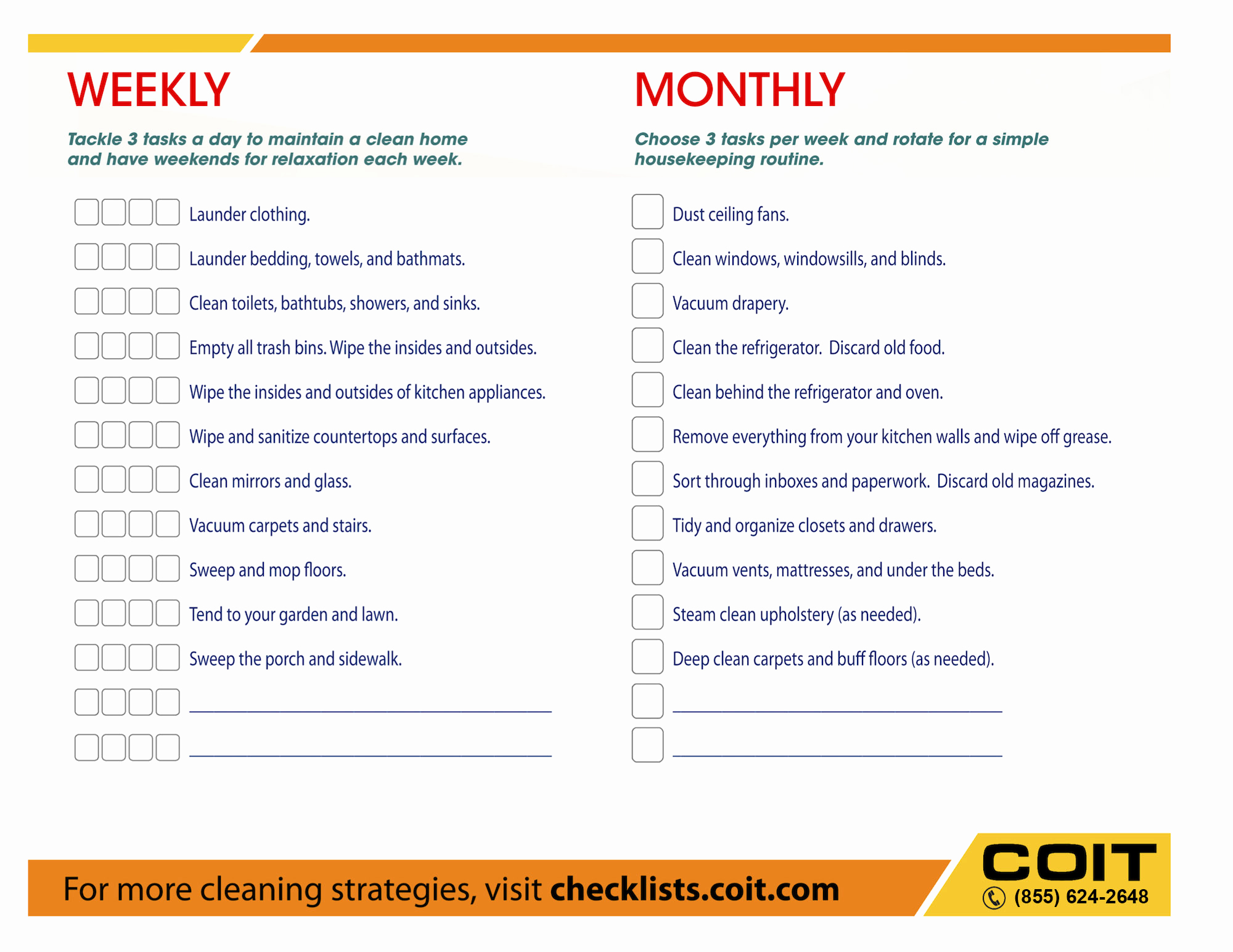 Residential Cleaning Checklist Template Elegant 40 Helpful House Cleaning Checklists for You