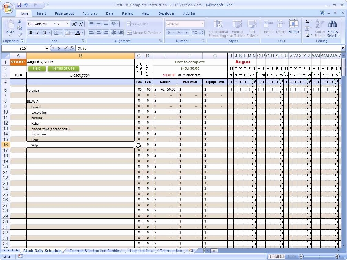 Residential Construction Budget Template Excel Beautiful Residential Construction Bud Template Excel Yaruki Up