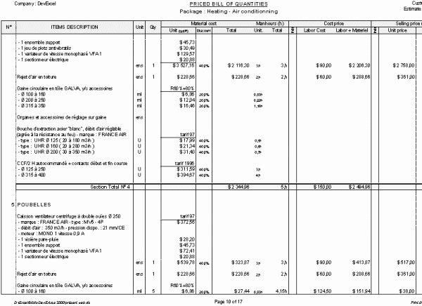 Residential Construction Budget Template Excel New ordination Certificate Templates