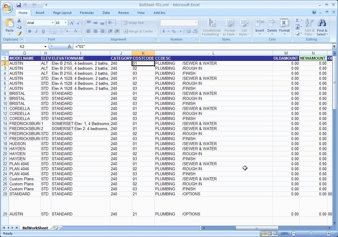 Residential Construction Budget Template Excel Unique Home Building Bud Template Excel House Plans