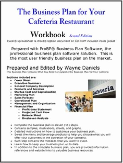 Restaurant Business Plan Template Free Unique 32 Free Restaurant Business Plan Templates In Word Excel Pdf