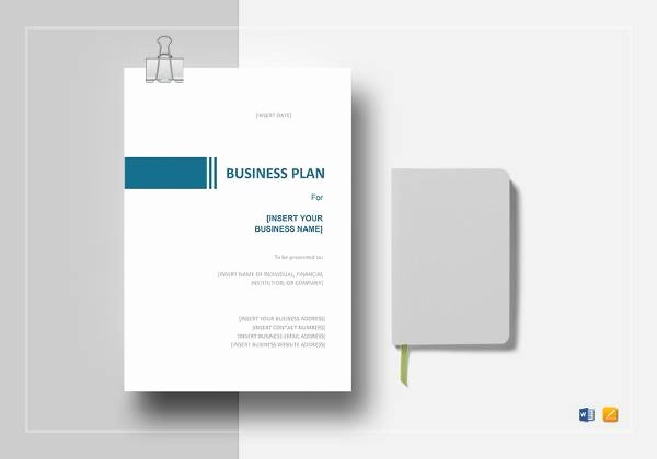 Restaurant Business Plan Template Word Inspirational Free 20 Sample Restaurant Business Plan Templates In