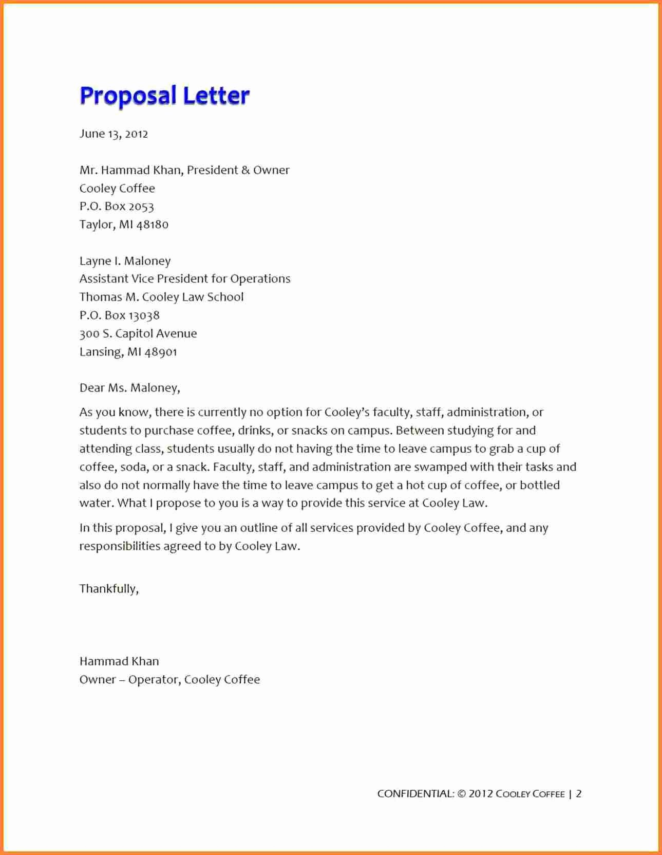 Restaurant Business Proposal Template Awesome 5 Business Proposal for Restaurant