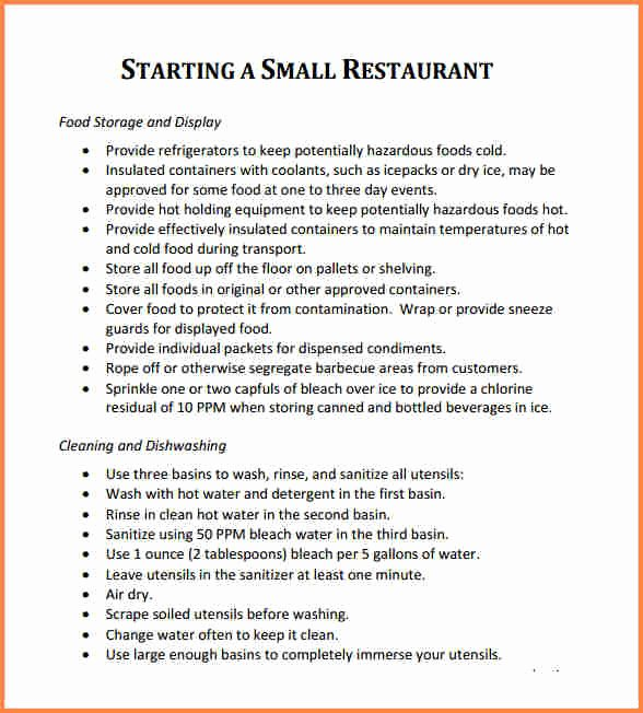 Restaurant Business Proposal Template Lovely 5 Business Proposal for Restaurant