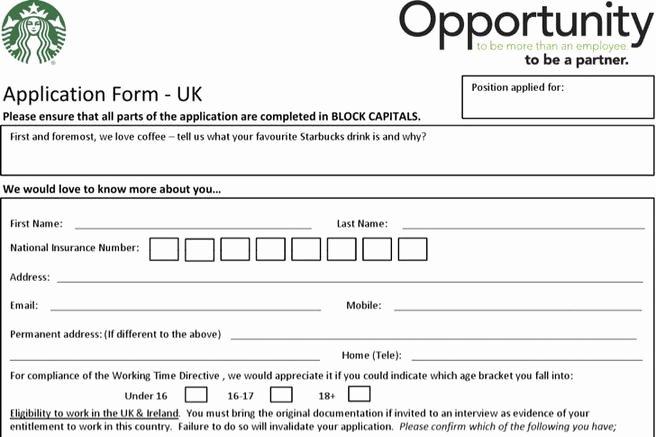 Restaurant Job Application Template Lovely 9 Restaurant Application Templates Free Download