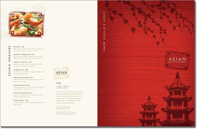 Restaurant Menu Template Word Beautiful 12 Best Chinese Food Restaurant Menu Templates