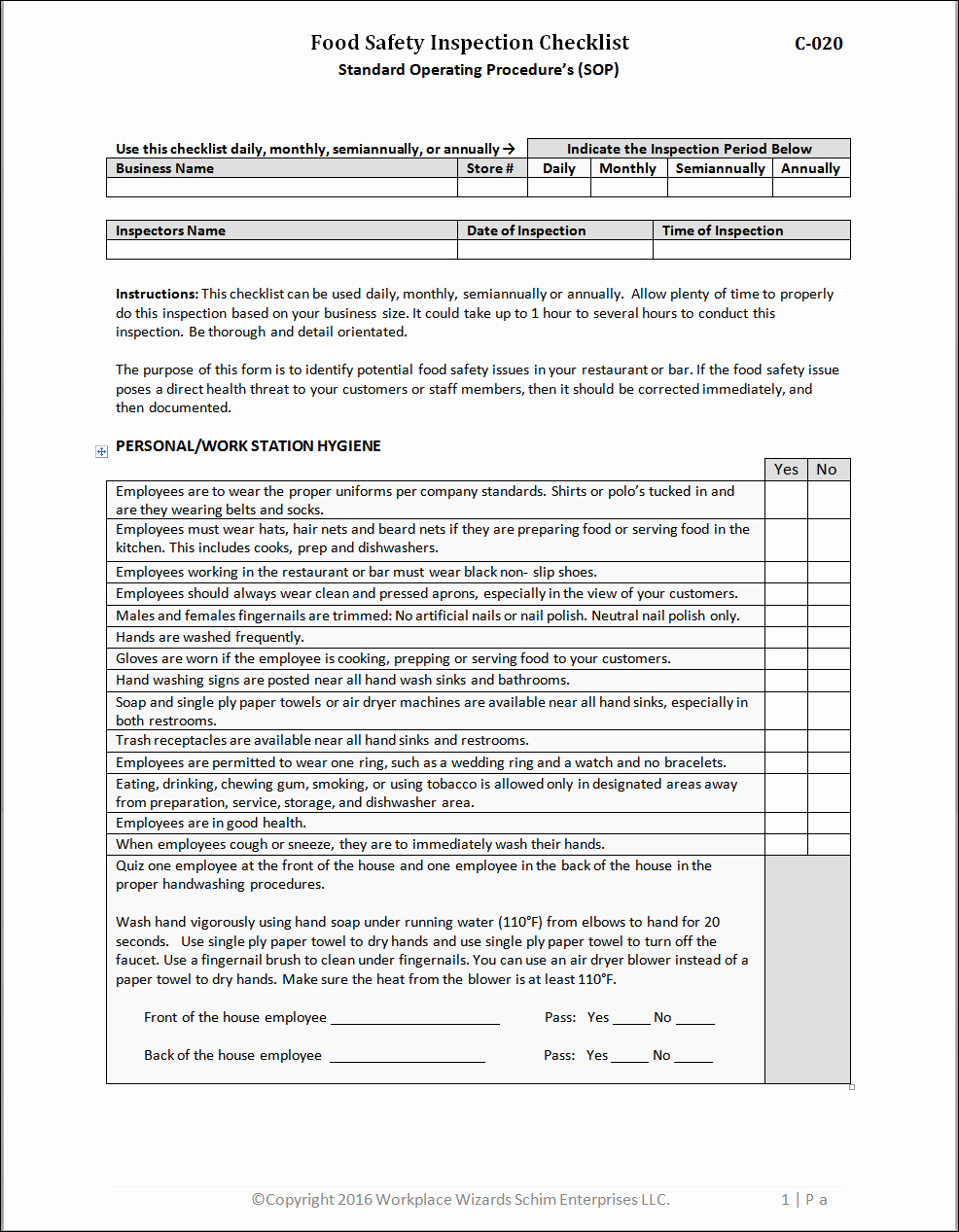 Restaurant Opening Checklist Template Best Of New Cumberland Pennsylvania Restaurant Management forms