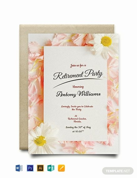 Retirement Flyer Free Template Awesome Free Printable Retirement Party Invitation Template