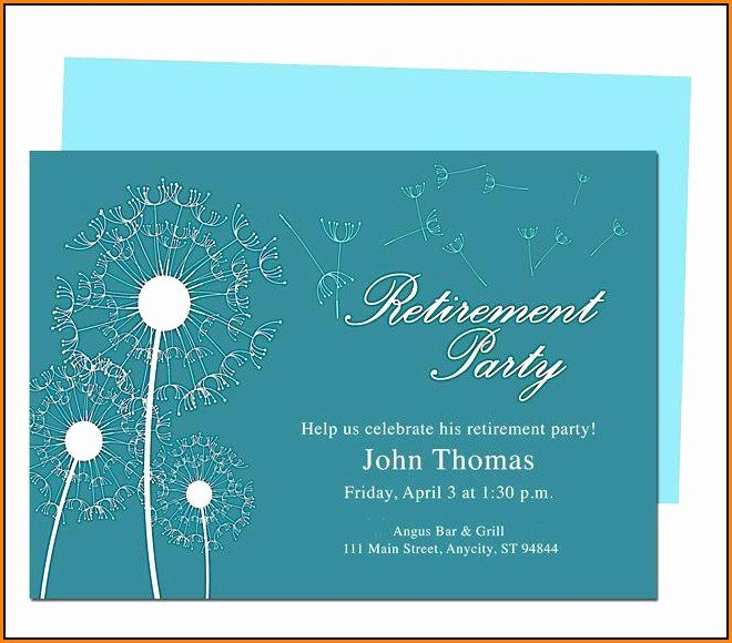 Retirement Flyer Free Template Best Of Retirement Party Flyer Template Word Template 2 Resume