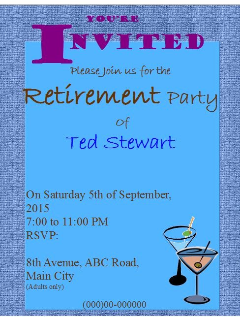 Retirement Party Flyer Template Elegant 20 Best Publisher Flyers Images On Pinterest