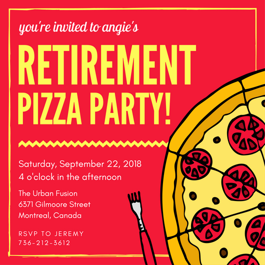 Retirement Party Flyer Template Lovely 40 Retirement Party Ideas Canva