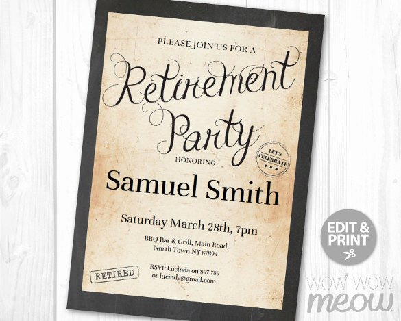 Retirement Party Flyer Template Luxury 12 Retirement Party Flyer Templates to Download Ai Psd Docs