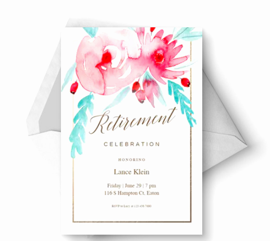 Retirement Party Flyer Templates Free Beautiful 15 Retirement Party Invitation & Flyer Templates Xdesigns