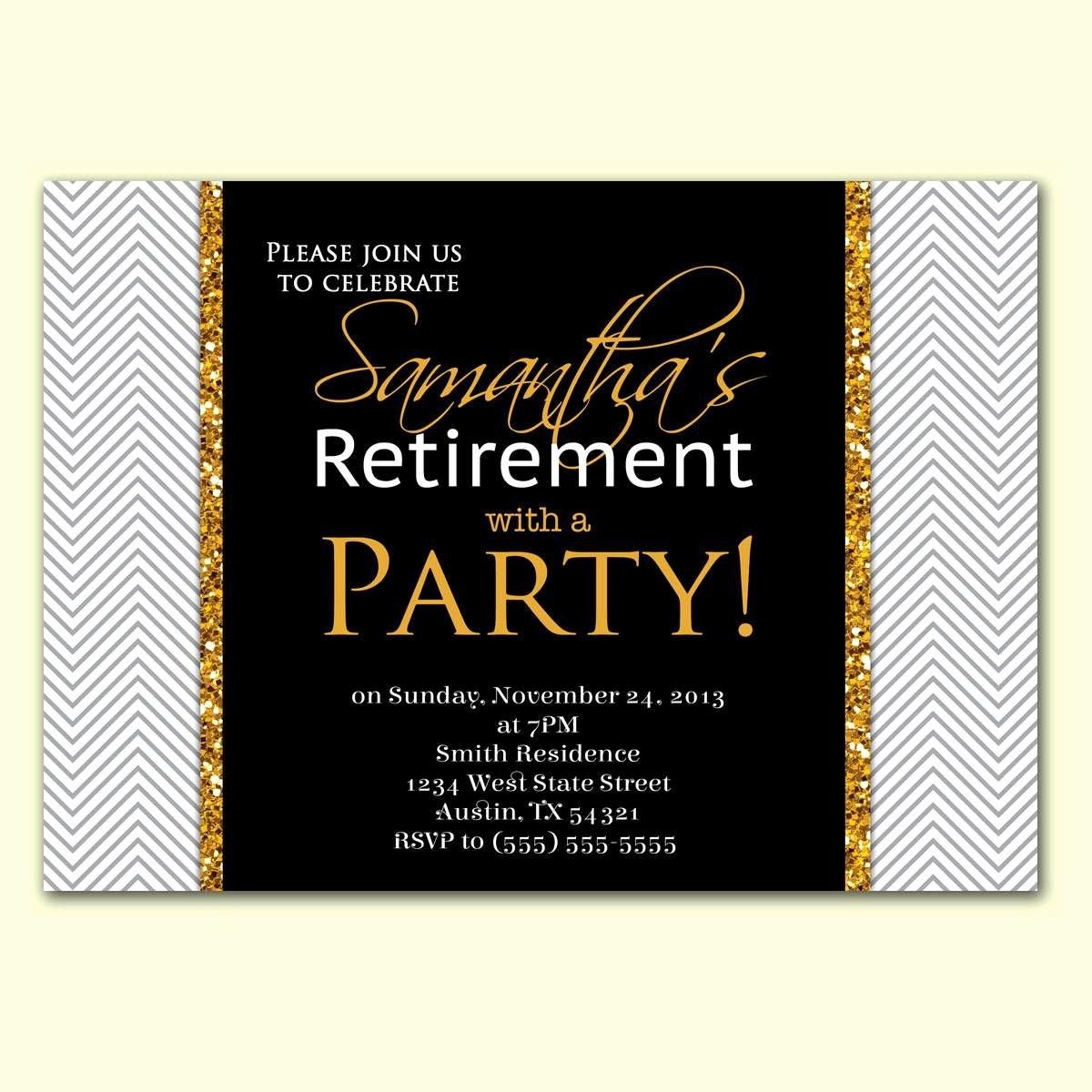 Retirement Party Invitation Templates Inspirational Retirement Party Invitation Wording In Hindi