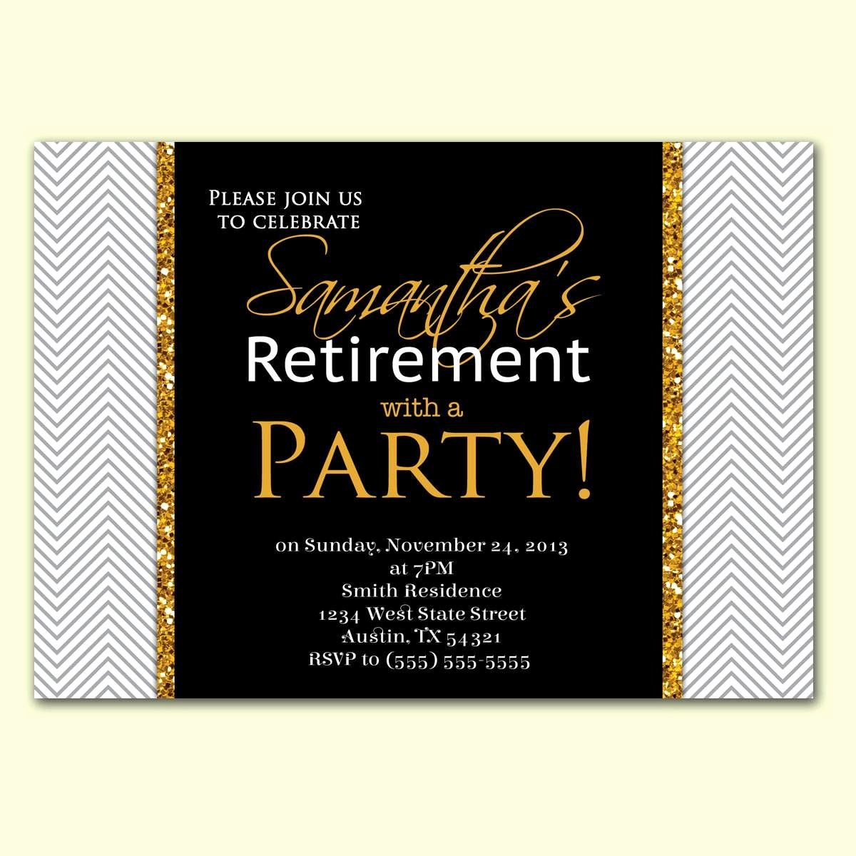 Retirement Party Invitations Templates Fresh Retirement Party Invitation Wording In Hindi