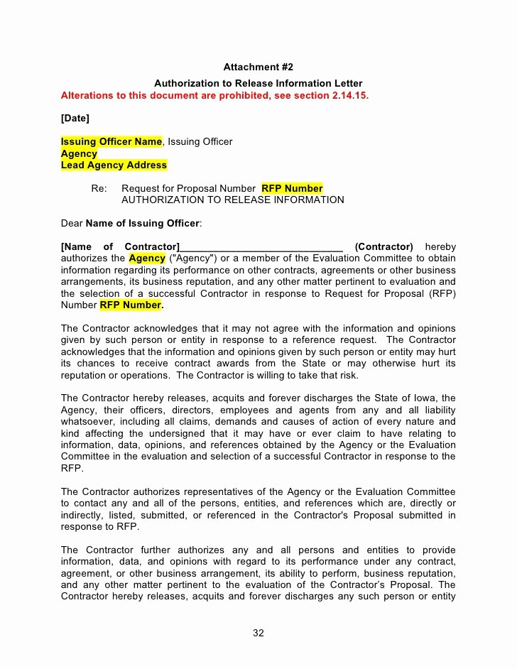 Rfp Response Template Word Best Of Rfp Template Word Document