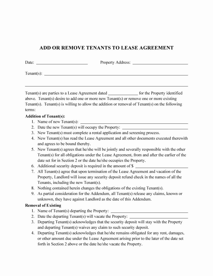 Roommate Rental Agreement Template Awesome Roommate Agreement Template 02 Lease
