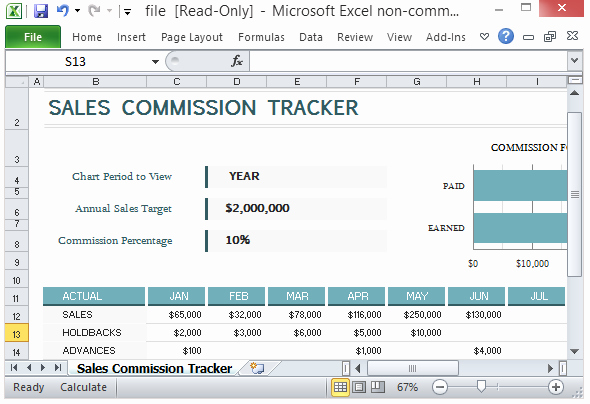 sales mission tracking template microsoft excel