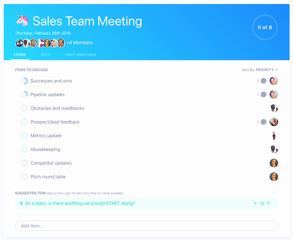 Sales Meeting Agenda Template Fresh 8 Items to Add to Your Sales Meeting Agenda