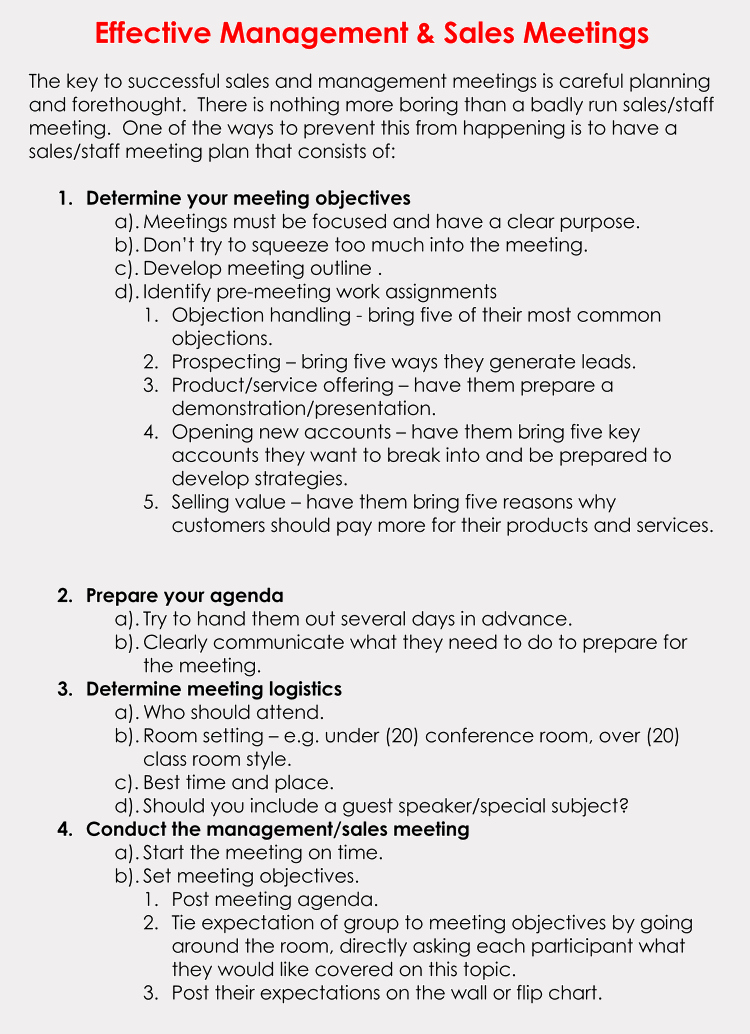 Sales Meeting Agenda Template Lovely Free Sales Meeting Agenda Templates Make Meetings