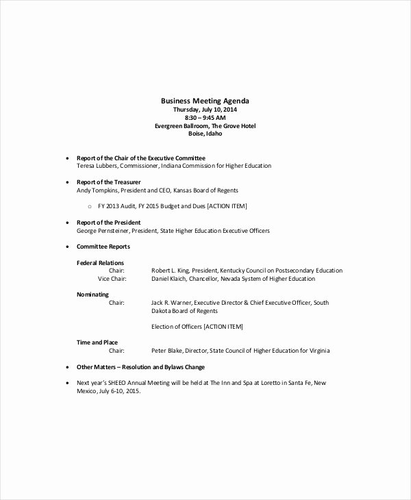 Sales Meeting Agenda Template Luxury 12 Sales Meeting Agenda Templates – Free Sample Example