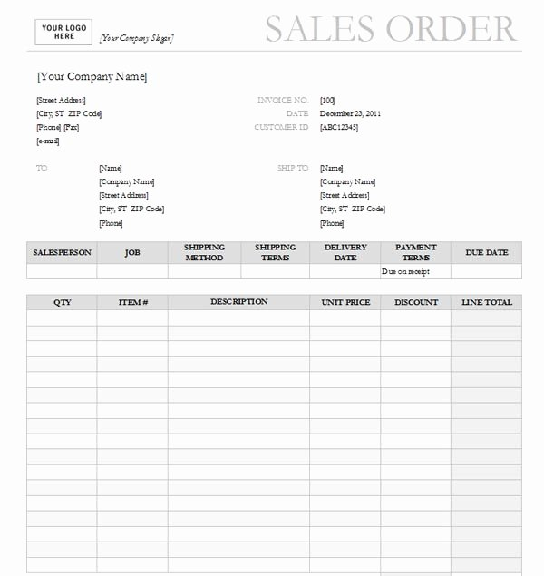 Sales order form Template Beautiful Best Sales order Templates • Easyerp Open source Erp & Crm
